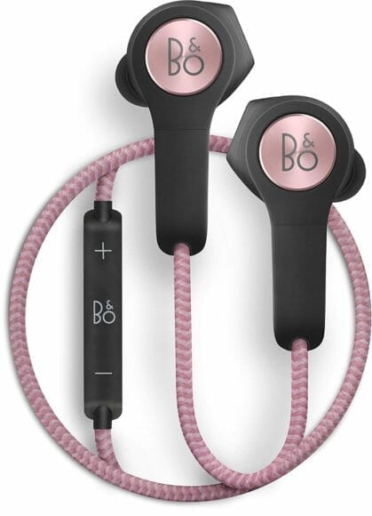 Bluetoothイヤホン Bang & Olufsen「H5」の外観