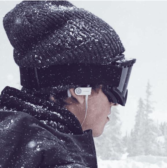 PowerBeats3を付けて雪山へ2