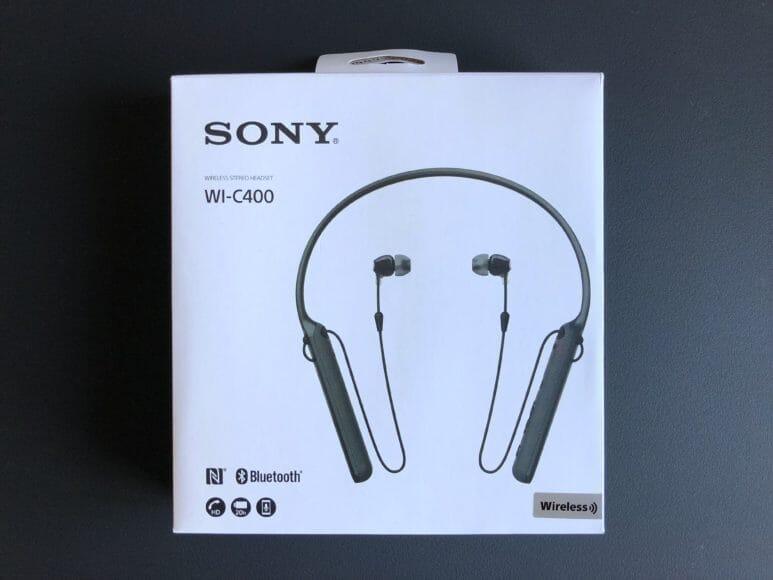SONY WI-C400の商品パッケージ