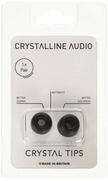 クリスタルラインオーディオ「クリスタルチップス」商品パッケージ