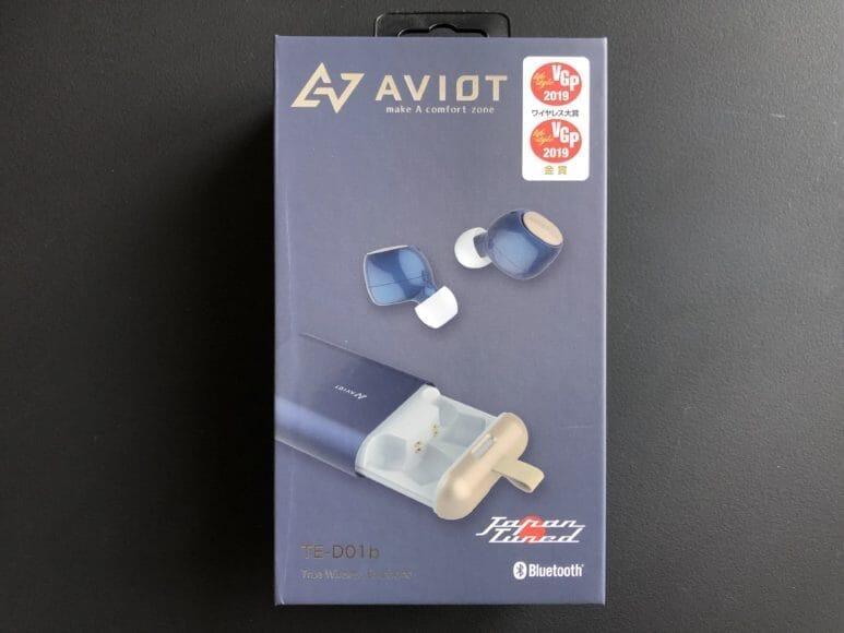 AVIOT「TE-D01b」は完全防水・9時間連続再生可能なVGP2019ワイヤレス大賞受賞のベストバイ完全ワイヤレスイヤホンです。