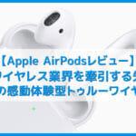【Apple AirPodsレビュー】24時間使えるおすすめ完全ワイヤレスイヤホンは重量たった8g!エアポッドは感動体験型Bluetoothイヤホン