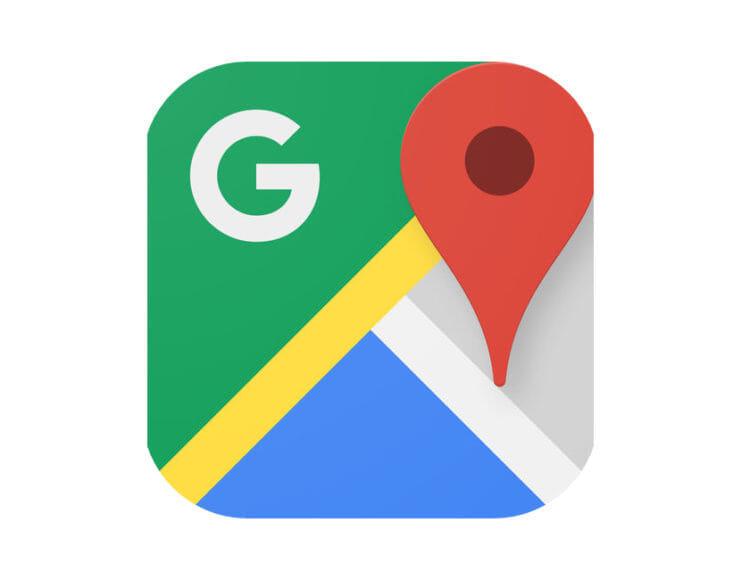 Googleマップアプリのアイコンマーク