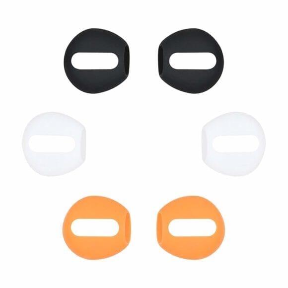 AirPodsの落下防止アイテム、A-FocusのAirPods専用イヤホンカバーは3色同梱セットがあるのが嬉しい。