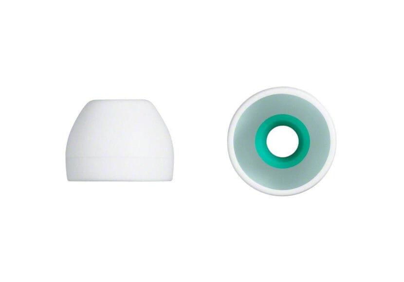 SONYのハイブリッドイヤーピース「EP-EX11」にはホワイトもあります。
