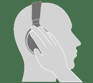 Panasonic「RP-HD600N」はボイススルー機能搭載だからヘッドホンを外さずに即座に周囲の音を聞き取ることができます。