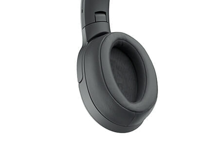 SONY「h.ear on 2 Wireless NC WH-H900N」のイヤーパッドは立体縫製で着け心地抜群です。