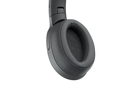 SONY「h.ear on 2 Wireless NC WH-H900N」のイヤーパッドは立体縫製で着け心地抜群です。