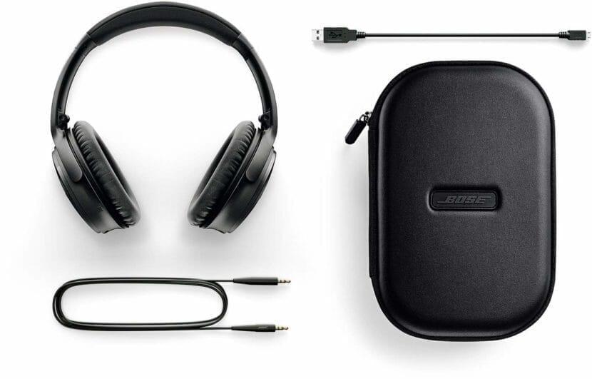 BOSE「QuietComfort35 wireless headphones II」にはキャリングケースが付属しています。