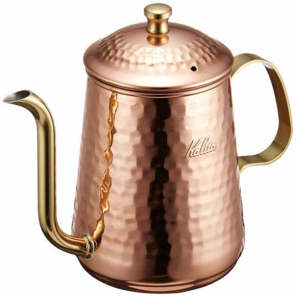 コーヒーをおいしく淹れられるおすすめコーヒーポットまとめ:銅製