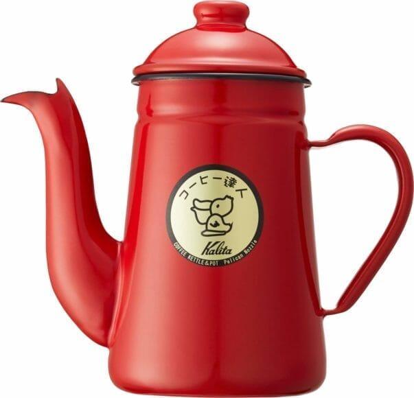 コーヒーをおいしく淹れられるおすすめコーヒーポット「カリタ コーヒー達人ペリカン」