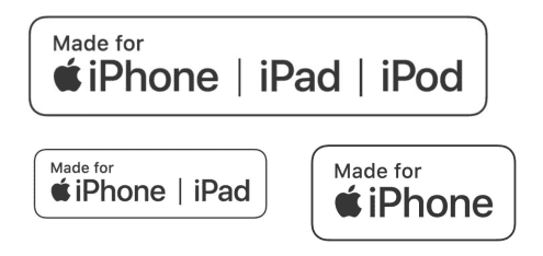 Apple MFi認証ロゴマーク。