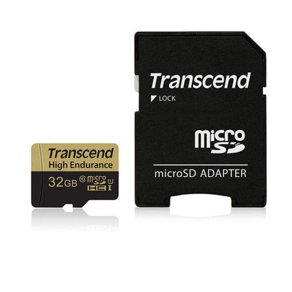 Transcend「高耐久 microSDHCカード 32GB」