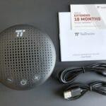 Tao Tronicsの防水Bluetoothスピーカー「TT-SK021」の付属品一覧。