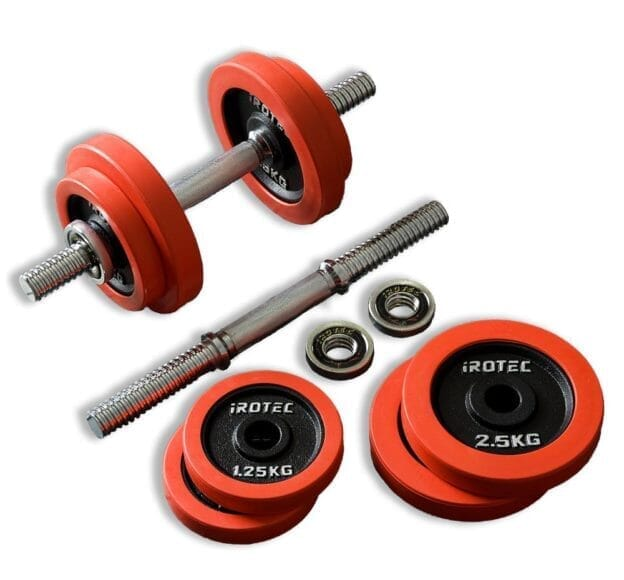 腹筋をバキバキに割るおすすめトレーニング器具:ダンベル