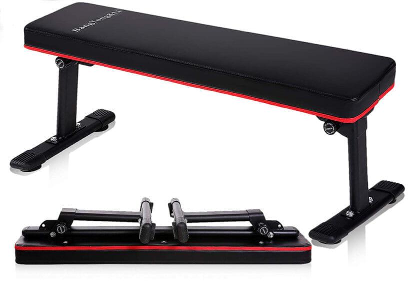 腹筋をバキバキに割るおすすめトレーニング器具:トレーニングベンチ