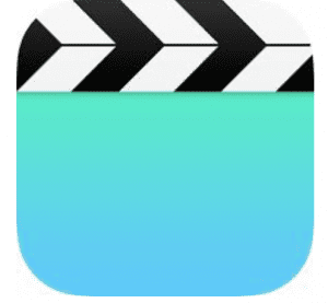 Apple公式アプリ「ビデオ」を使えば、同期した動画データがいつでも見れますよ。