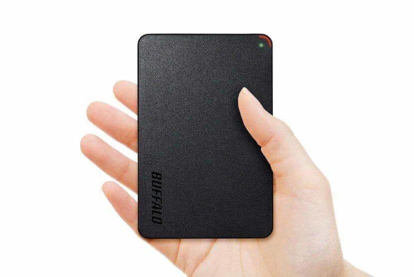 スマホ向けおすすめ外付けハードディスク:ポータブル型外付けハードディスク