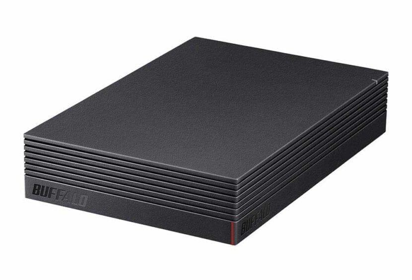 スマホ向けおすすめ外付けハードディスク:BUFFALO「HD-LDS1.0U3-BA」