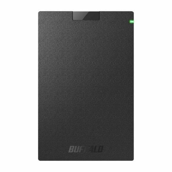 スマホ向けおすすめ外付けハードディスク:BUFFALO「SSD-PG1.0U3-B/NL」