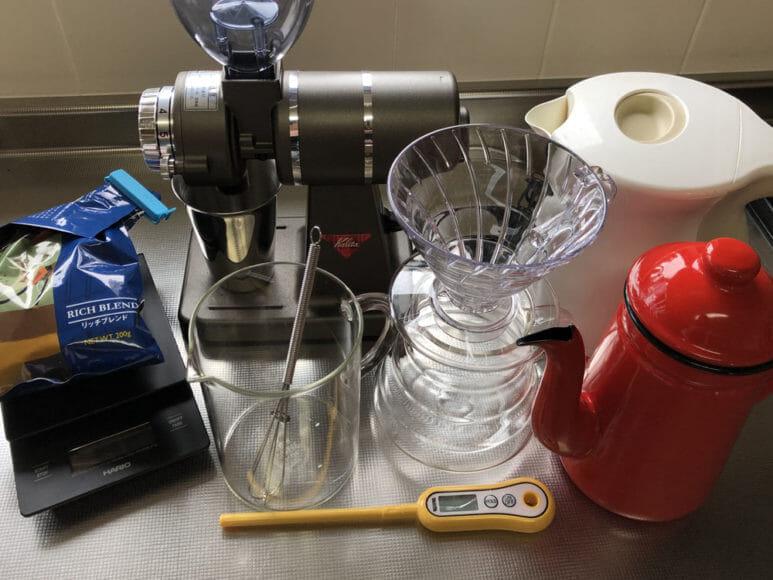 美味しい自家製アイスコーヒーの淹れ方|サプライ一式