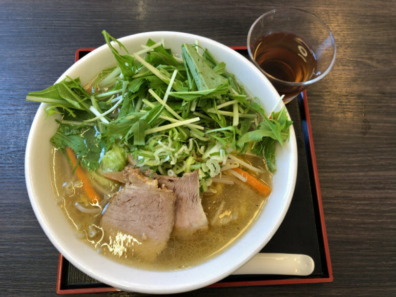 釧路のおいしいラーメン屋さん|しお野菜ラーメン