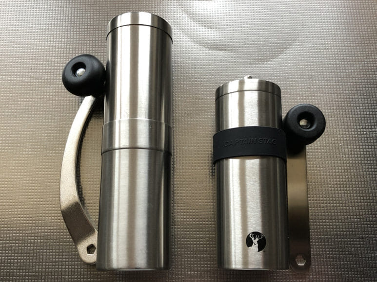 おすすめ手動コーヒーミル:キャプテンスタッグ|キャプテンスタッグとポーレックスのコーヒーミルを比較してみます。