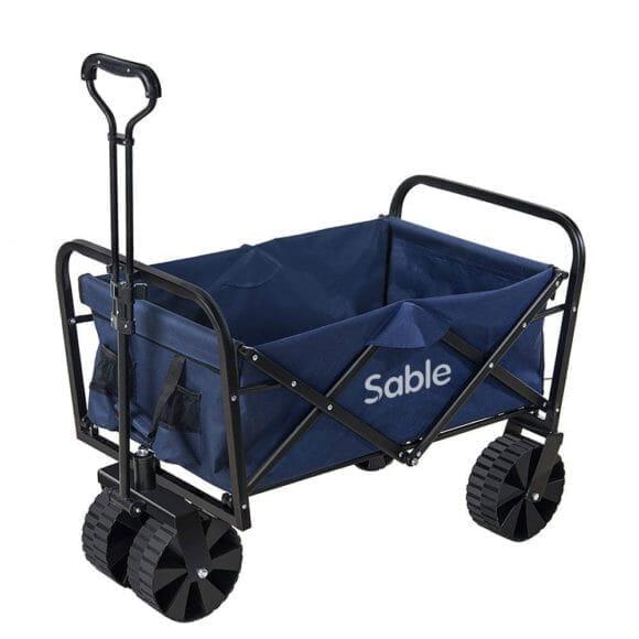 アウトドア便利グッズ:キャリーワゴンまとめ|第6位:Sable「キャリーカートSA-HF021」