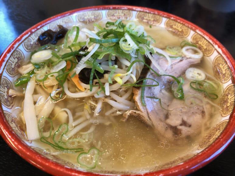 釧路のおいしいラーメン屋さん「夏堀」|塩ラーメンも醤油に負けじとウマいです。