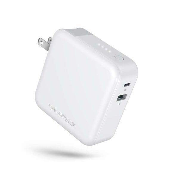 おすすめの充電器一体型モバイルバッテリーRAVPower「RP-PB122」|外観
