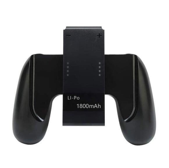 ニンテンドースイッチをプレイしながらJoy-Conを充電できる充電器|Joy-Conグリップ型のバッテリー内蔵型充電器