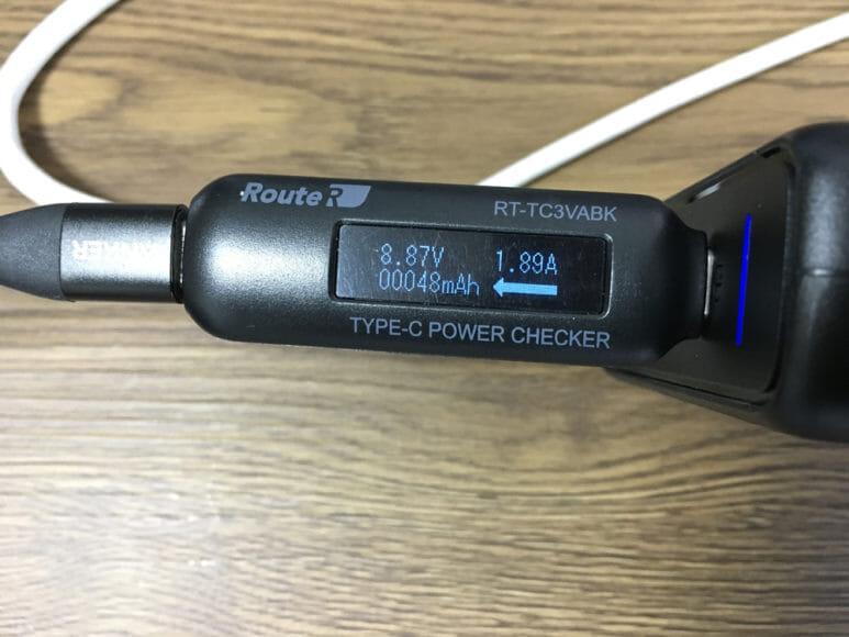 おすすめのモバイルバッテリーAnker「PowerCore Slim 10000 PD」レビュー|「PD対応急速充電器」の充電時の電流・電圧を実測してみました。