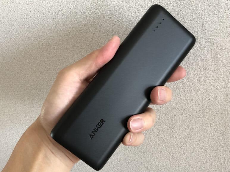 おすすめのモバイルバッテリーAnker「PowerCore Speed 20000 PD」レビュー|上質なサラッとした触感は他社製ではそうお目にかかれません。