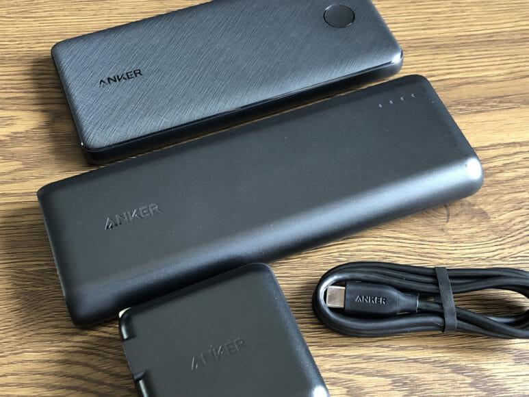 おすすめのモバイルバッテリーAnker「PowerCore Speed 20000 PD」レビュー|携帯性を重視するなら断然「PowerCore Slim 10000 PD」が優位ですが、携帯性を考慮しつつ大容量バッテリーを搭載しUSB-C急速充電器も付属した「PowerCore Speed 20000 PD」の独自性にも大きなメリットを感じます。