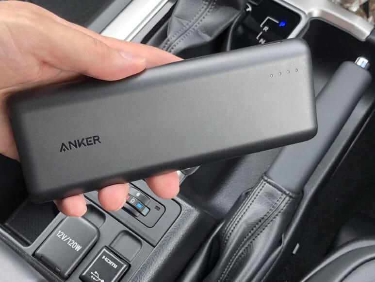 おすすめのモバイルバッテリーAnker「PowerCore Speed 20000 PD」レビュー|僕は車載専用モバイルバッテリーとして「PowerCore Speed 20000 PD」を使っています。