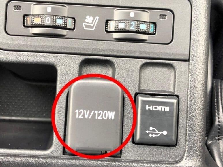 Anker「PowerDrive Speed+2-1 PD & 1 PowerIQ 2.0」レビュー 「12V / 120W」といったように書かれたシガーソケットに差し込んで使用します。