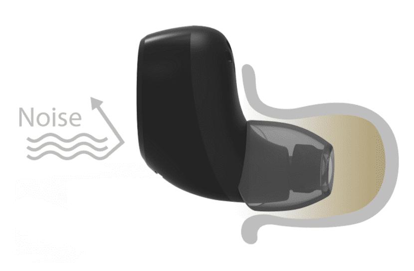 おすすめ完全ワイヤレスイヤホンAstrotec「S60」レビュー 「S60」のノイズアイソレーション機能は予想以上に優秀です。
