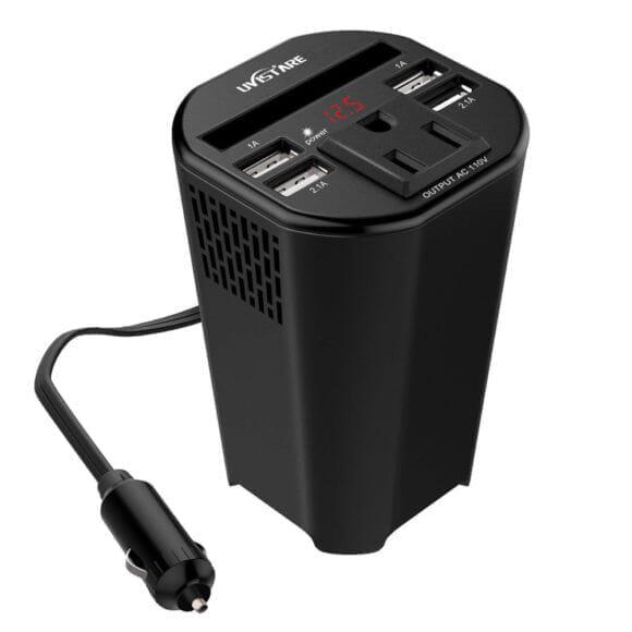 おすすめカーチャージャーまとめ|カーチャージャーの種類:USB Type-A充電器(カップホルダー型)