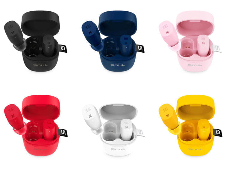 おすすめのBluetoothイヤホンSOUL「ST-XX」レビュー|SOUL ST-XXのカラーバリエーションは6色。