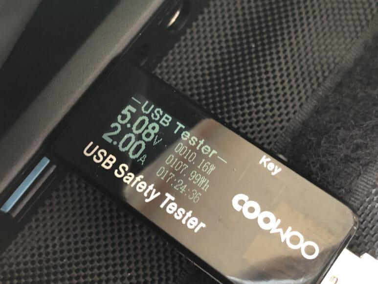 ソーラー充電器suaoki・Anker 60W比較レビュー|Anker「PowerPort Solar 60」のUSBポートのアンペア数をチェックしてみました。