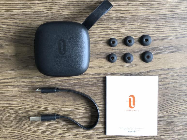 おすすめのBluetoothイヤホンTaoTronics「DUO FREE+(TT-BH063)」レビュー|付属品一覧