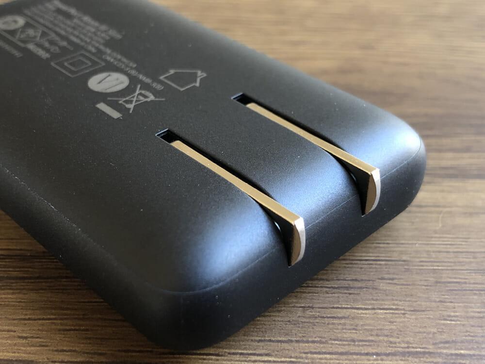 おすすめ急速充電器Anker「PowerPort Atom III Slim」レビュー|プラグが折り畳んで本体収納できるのもポイント高いです。