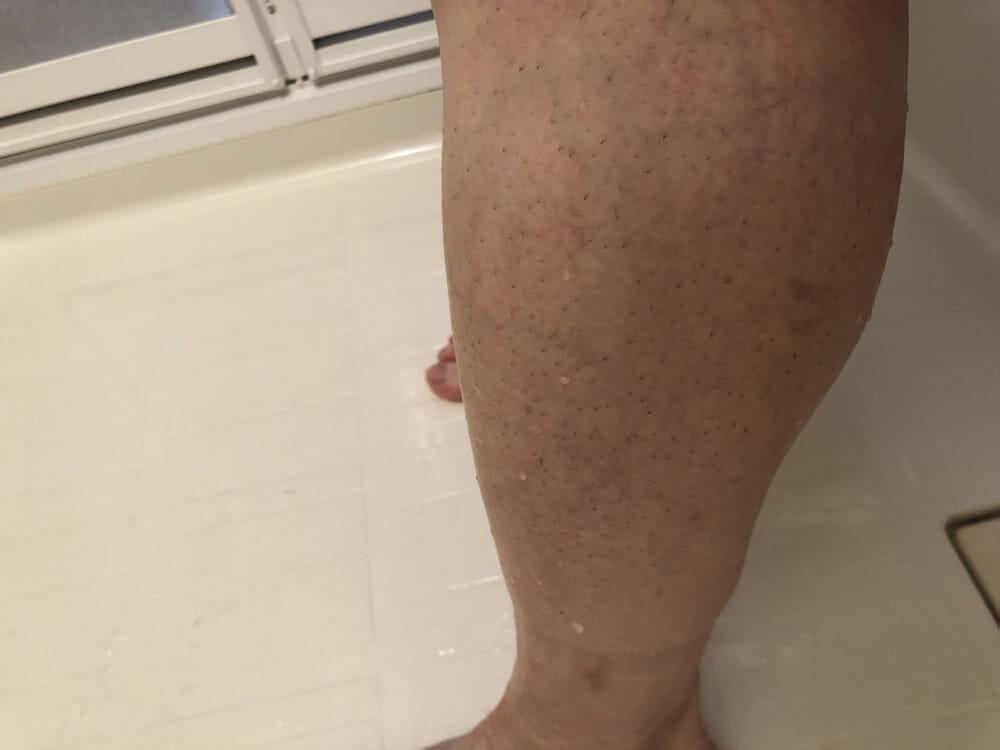 メンズ向けおすすめ脱毛・除毛グッズ「プレミアムリムーバー グート」|これできれいサッパリ、除毛クリームを洗い流せました。