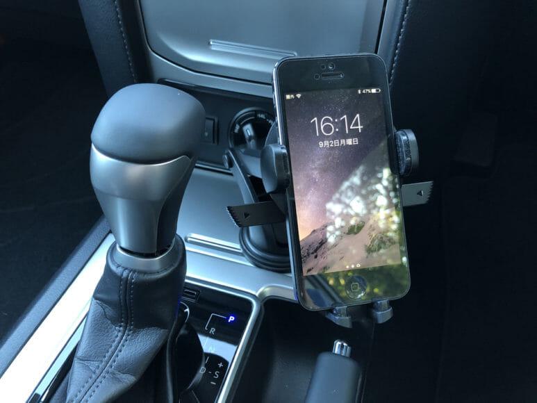 おすすめ車載スマホホルダー・スマートタップ「EasyOneTouch4 wireless」|簡単に設置することができました。