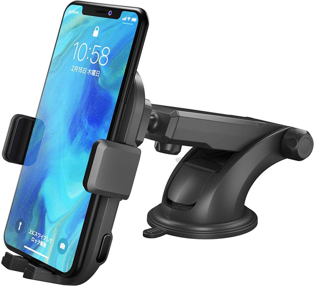 おすすめ車載スマホホルダー・スマートタップ「EasyOneTouch4 wireless」|スマートタップの新作車載スマホホルダー「EasyOneTouch4 X Wireless」が登場しました。