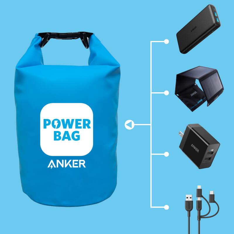 【2019年防災グッズまとめ】災害時の情報確保にスマホ必須!備えておくべきスマホ充電用モバイルバッテリー・充電器など総括|Anker「Power Bag」