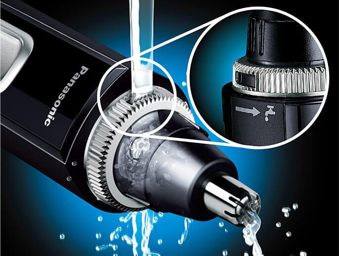 【鼻毛カッター パナソニックER-GN50レビュー】使い方は簡単!毛クズ吸引&水洗いOKのメンズ用おすすめエチケットカッター|安全構造で眉・耳・ヒゲにも|「スマート洗浄」機能に魅力を感じるなら上位機種「ER-GN70」がおすすめです。