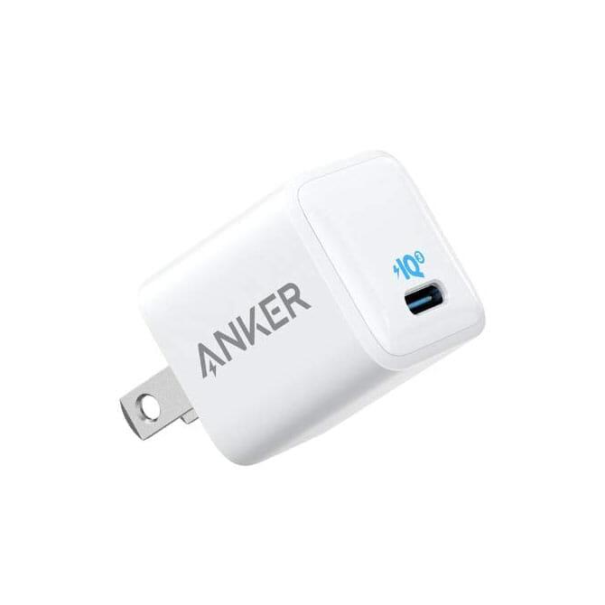 "【Anker PowerPort III Nanoレビュー】2.7cm角&30g超軽量小型ボディで携帯性抜群!""サイズは子ども、パワーは大人""を実現させたスマホ向けPD対応急速充電器|製品画像"