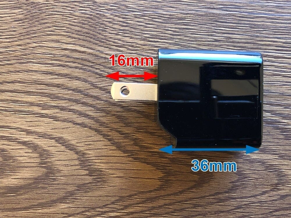 【Aukey PA-Y19レビュー】Ankerを上回るサイズと使い勝手!PD対応USB-Cポート搭載でスマホ・ノートPCを急速充電できる世界一コンパクトな急速充電器|使ってみて感じたこと:やっぱりプラグは折り畳み式が最高!