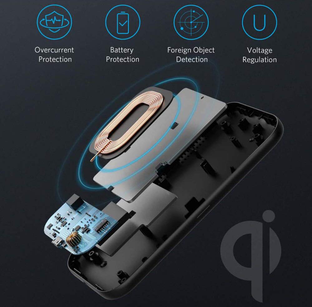 【Anker ワイヤレス充電器PowerWave Base Padレビュー】Qi対応で置くだけ充電!従来の約10%充電速度が高速化した滑り止め加工が嬉しいワイヤレス充電器|優れているポイント:高い安全性を実現